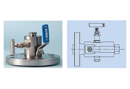 Integral Single Block & Bleed Valves